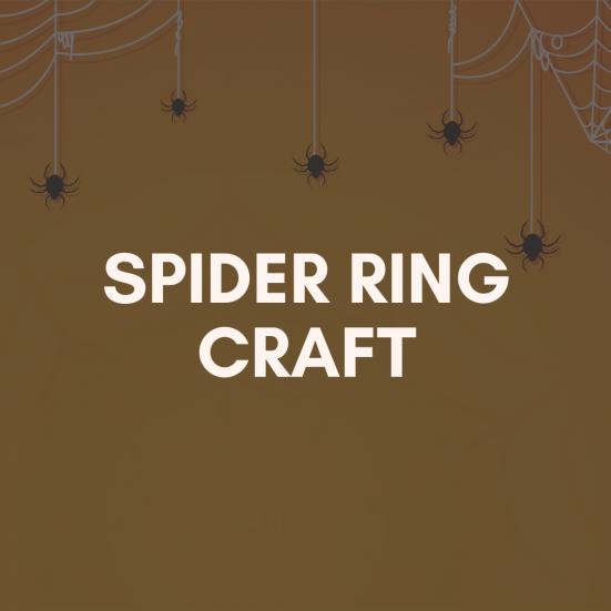 spider ring craft