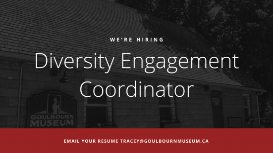 We're Hiring - Diversity Engagement Coordinator