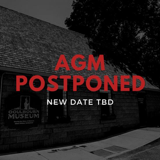 A.G.M. Postponed