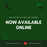 history of healing charms now available online