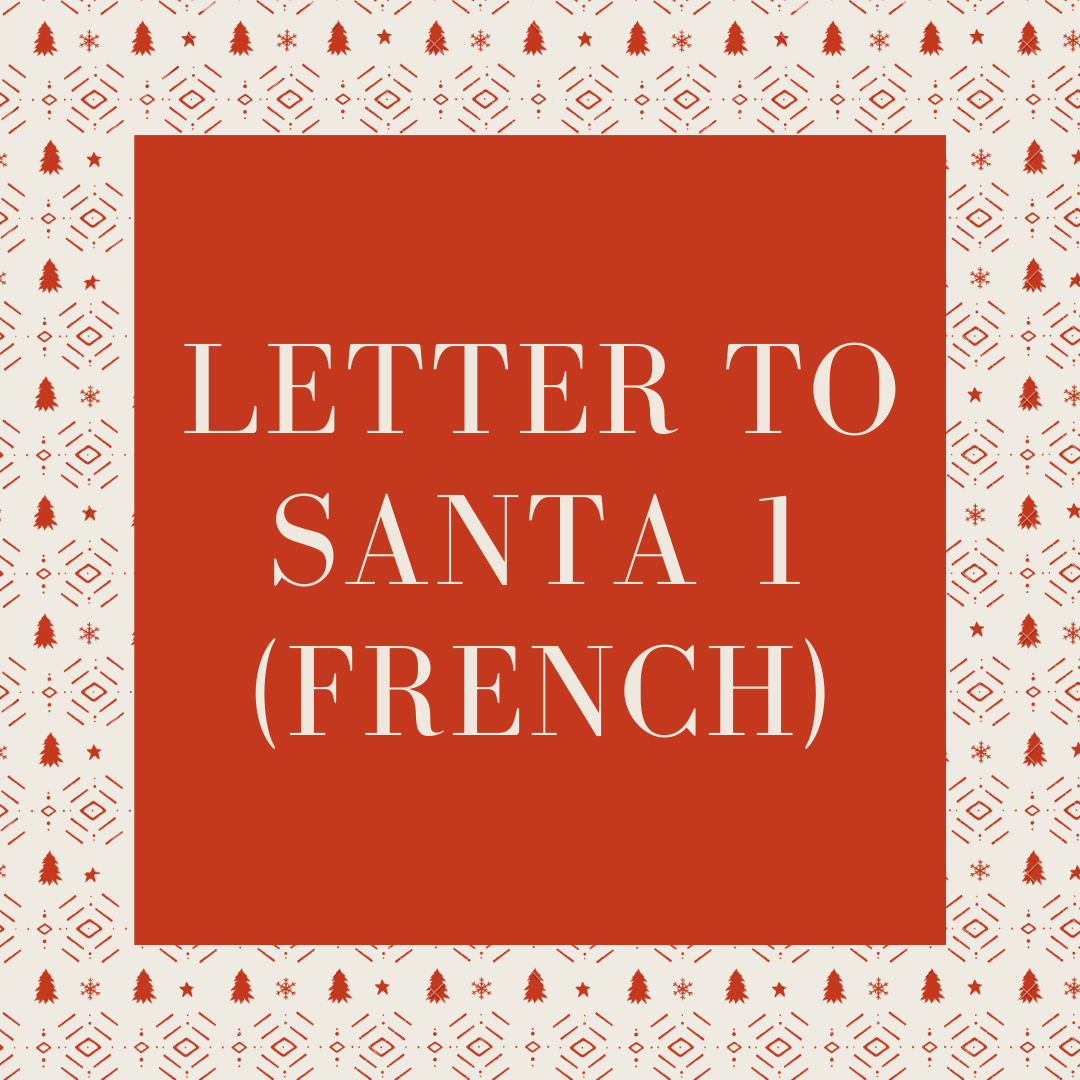 Download Letter to Santa 1 French