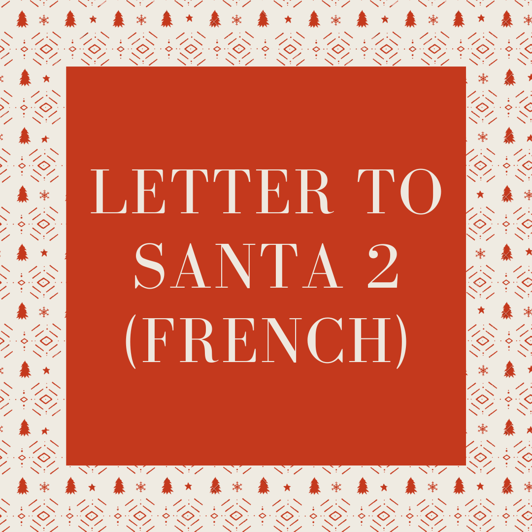 Download Letter to Santa 2 French