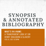 Synopsis & Bibliography