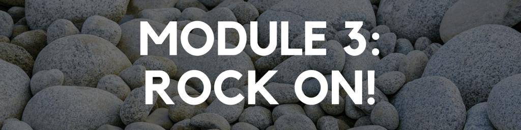 Module 3: Rock On!